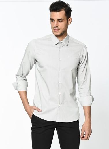 Wessi Uzun Kollu Gömlek Gri